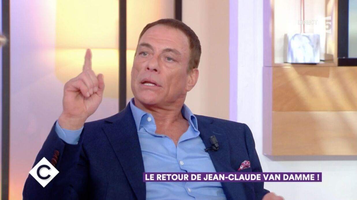 VIDEO Jean-Claude Van Damme de retour en France, son inter­view folle dans C à vous