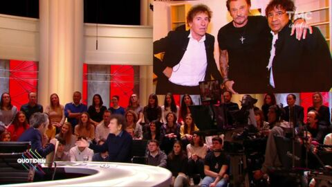 VIDEO Alain Souchon : sa tendre déclaration d'amour à Johnny Hallyday