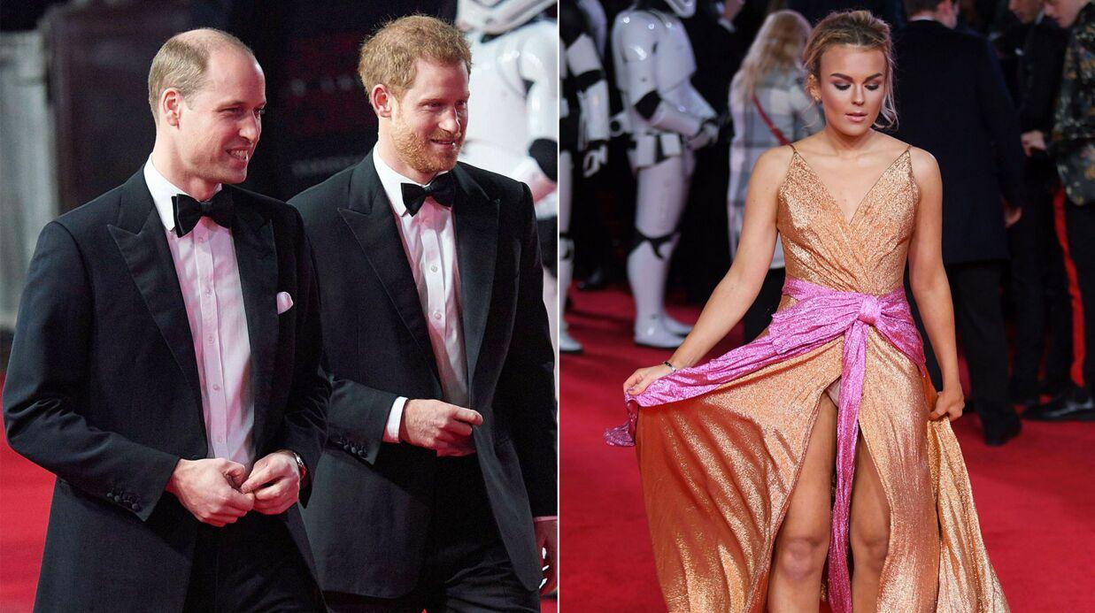 PHOTOS Une chanteuse en montre trop lors de l'avant-première de Star Wars… où étaient les princes William et Harry