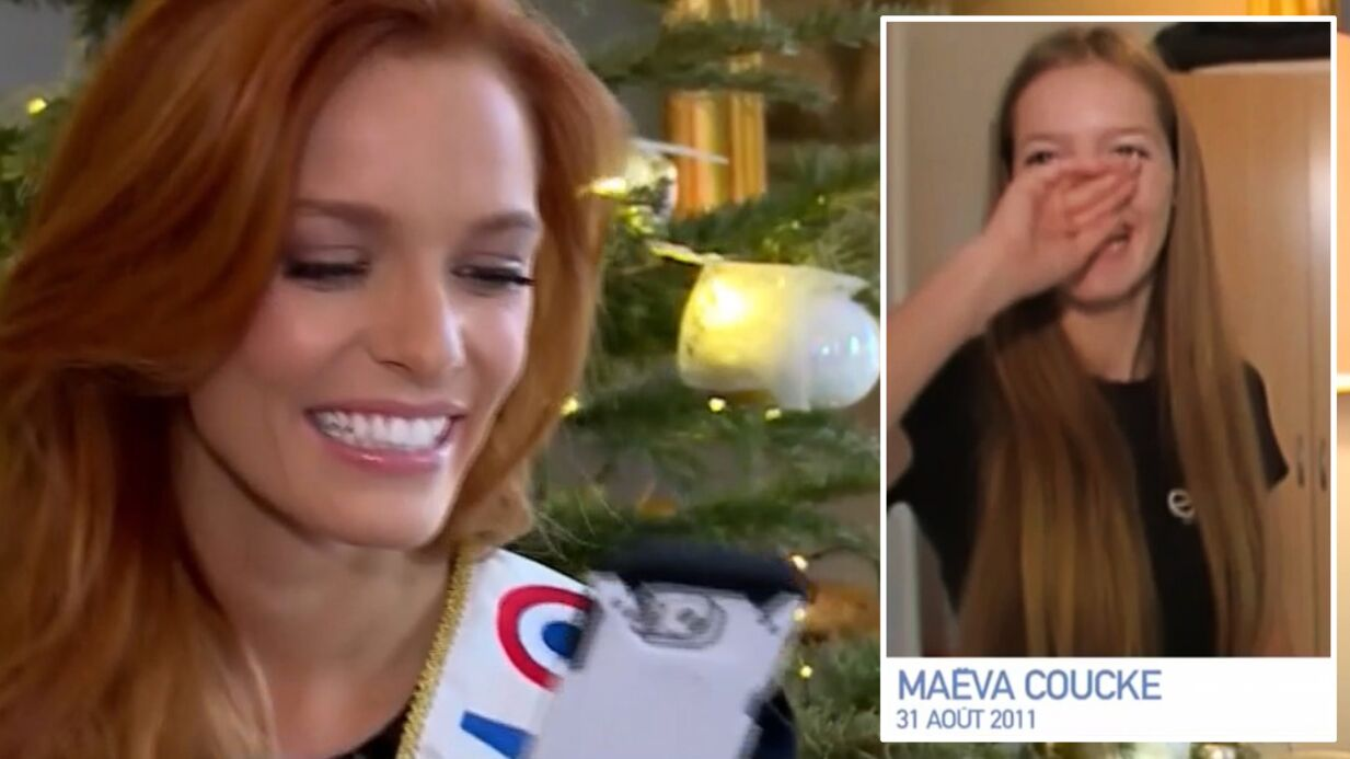 VIDEO Miss France 2018: Quand Maëva Coucke bafouillait à ses débuts dans le mannequinat, la séquence gênante