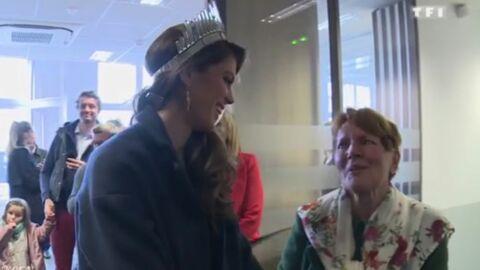 VIDEO Iris Mittenaere: ses tendres retrouvailles avec sa grand-mère Claudie