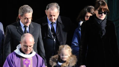 Obsèques d'Andrée Sarkozy: Nicolas, Carla Bruni-Sarkozy et Giulia unis dans la douleur