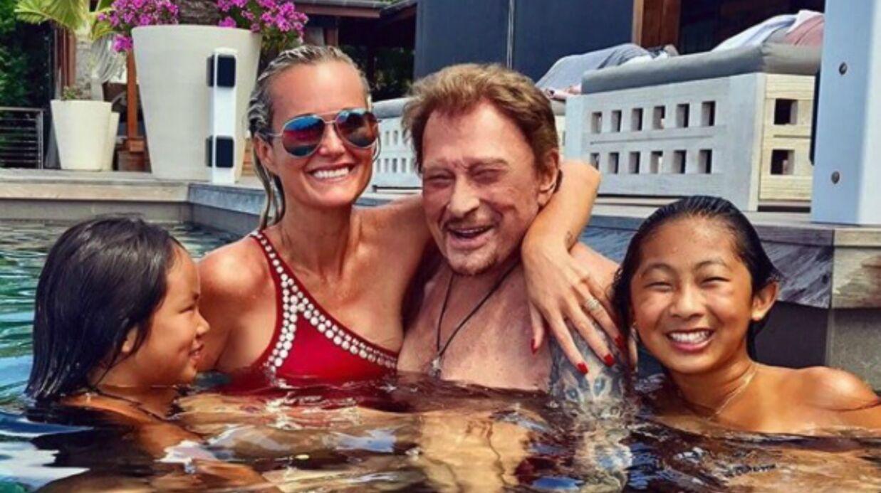 PHOTOS Johnny et Laeticia Hallyday: leurs jours heureux à Saint-Barthélemy