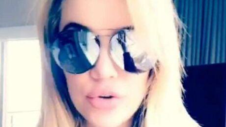Khloé Kardashian: trahie par ses lunettes de soleil, elle révèle sa grossesse!