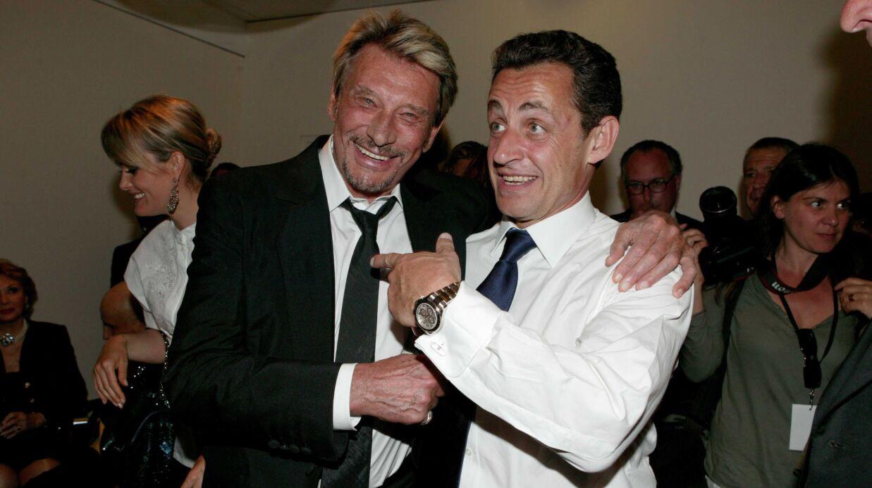 Johnny Hallyday: son tatoueur s'est aussi occupé de… Nicolas Sarkozy!