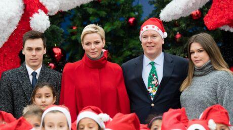 PHOTOS Charlène de Monaco, absolument canon, et Albert II fêtent Noël: les Monégasques très gâtés