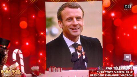 VIDEO Cyril Hanouna arrive à joindre Emmanuel Macron par téléphone pour ses 40 ans