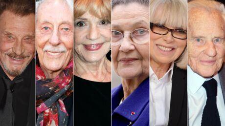 RETRO 2017: Johnny, Mireille Darc, Jean Rochefort… Ils nous ont quittés cette année