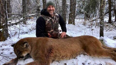 Un animateur télé canadien choque en tuant un puma et en le cuisinant ensuite