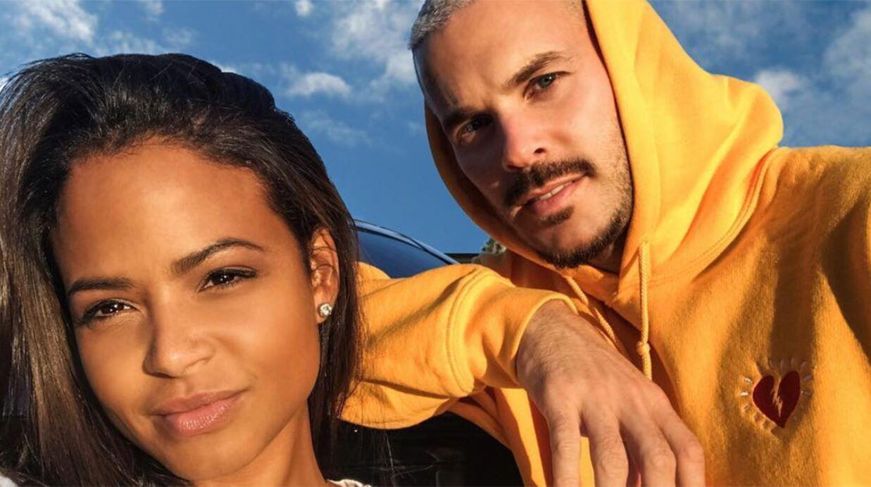 PHOTO M Pokora et Christina Milian très sexy, ils prennent la pose pendant leurs vacances à Dubaï