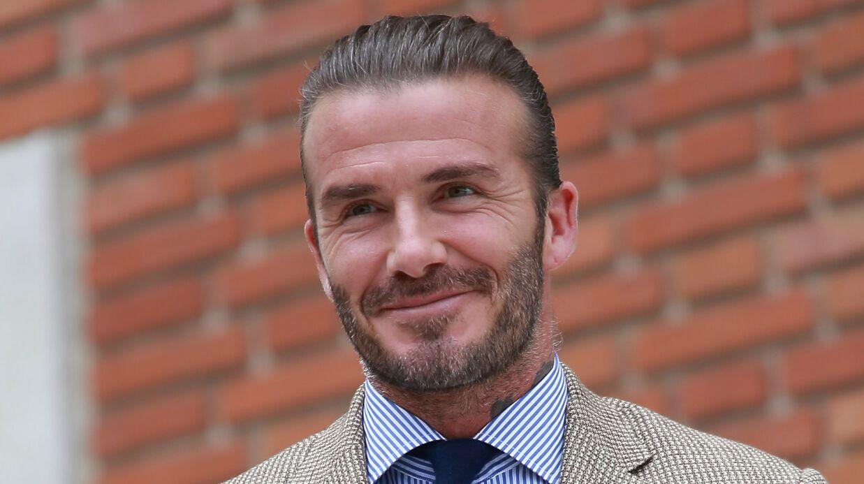 PHOTO David Beckham pose avec ses trois «beaux garçons»