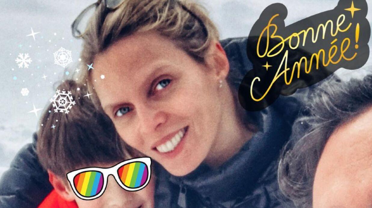 PHOTO Sylvie Tellier: en vacances en famille, elle s'affiche sans maquillage