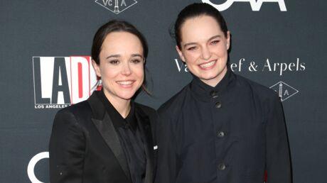 PHOTOS Ellen Page s'est mariée avec sa compagne Emma Portner
