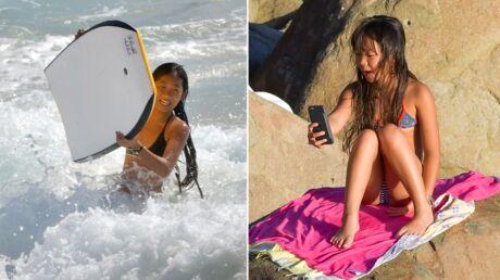 Johnny Hallyday: Jade et Joy retrouvent le sourire sur les plages de Saint-Barthélemy