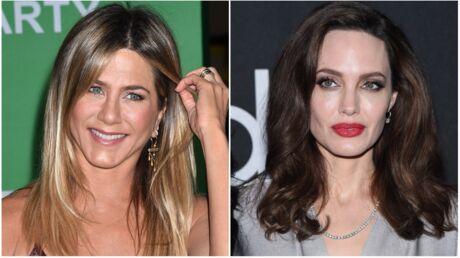 Jennifer Aniston et Angelina Jolie: réunies pour remettre un prix à la cérémonie des Golden Globes 2018
