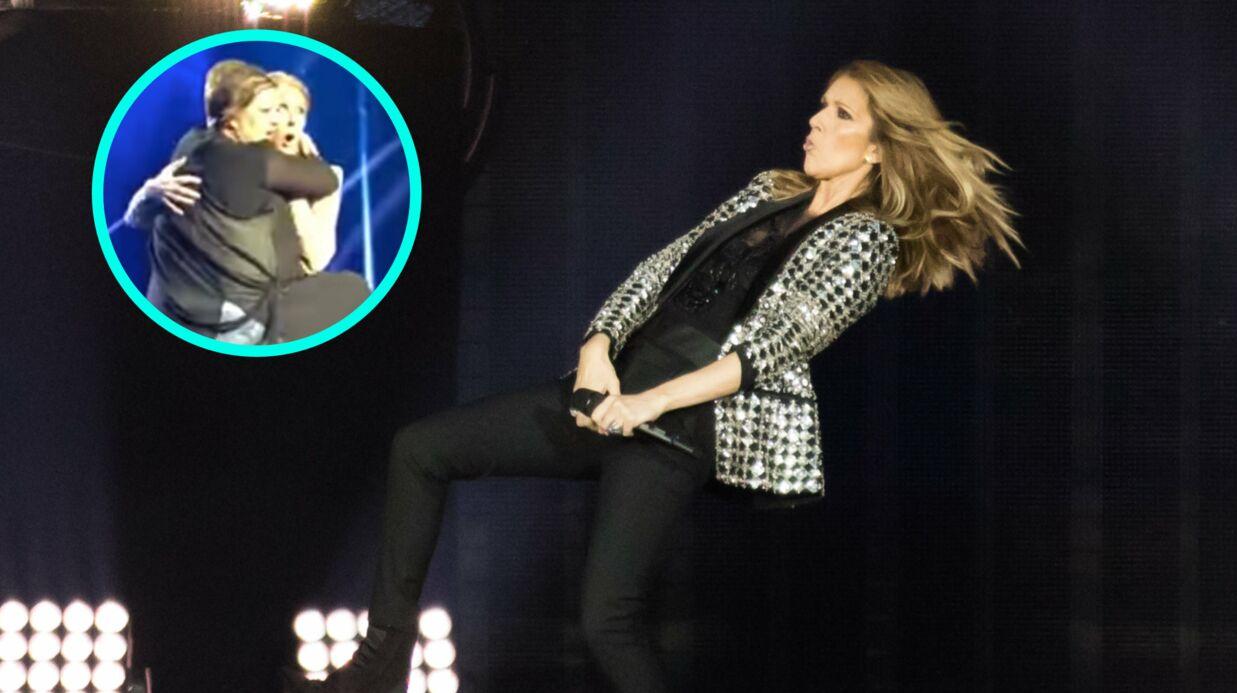 Céline Dion surprise par une fan TRÈS entreprenante