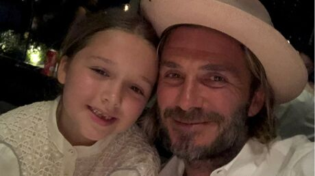 PHOTO David Beckham partage un tendre moment de complicité avec sa fille Harper