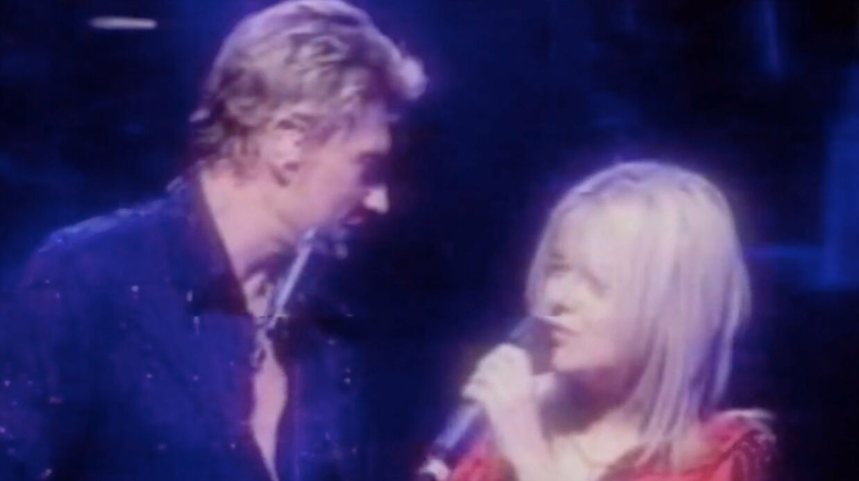 Quand France Gall repre­nait avec Johnny Hally­day la chan­son de Michel Berger, Quelque chose de Tennes­see