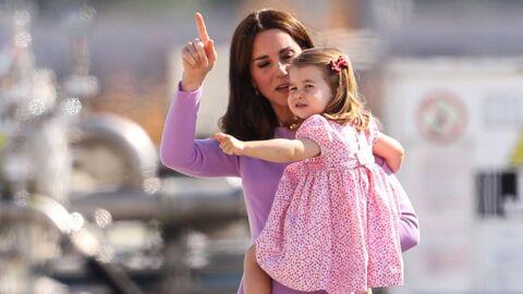 PHOTO Découvrez la princesse Charlotte lors de sa première rentrée des classes