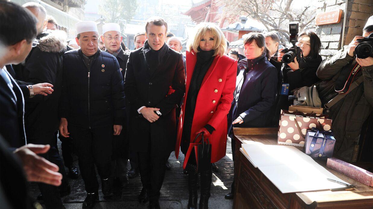 PHOTOS Brigitte Macron attire tous les regards lors de la visite d'Etat en Chine