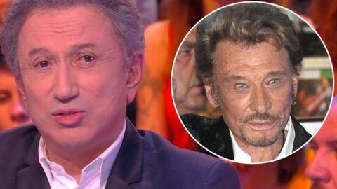 VIDEO Mort de Johnny Hallyday: Michel Drucker toujours très affecté par la disparition du chanteur