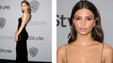 Tendance make-up : le smoky rouge, comme Emily Ratajkowski
