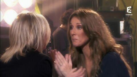 VIDEO Quand Céline Dion chantait (en larmes) Ziggy face à France Gall (elle aussi en larmes)