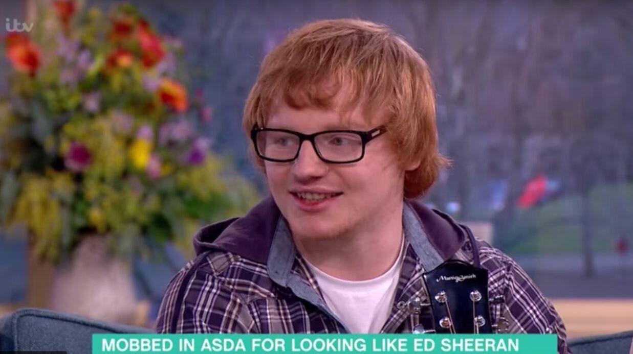 Ce caissier de supermarché, sosie malgré lui d'Ed Sheeran, ne sait plus quoi faire pour échapper aux fans