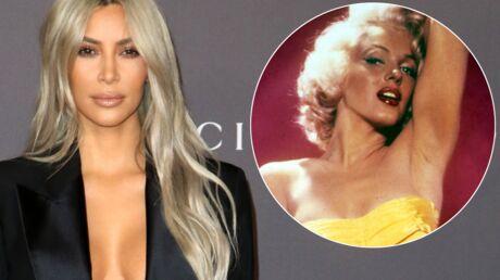 PHOTO Marylin Monroe topless: Kim Kardashian publie un cliché rare et sexy de l'icône hollywoodienne