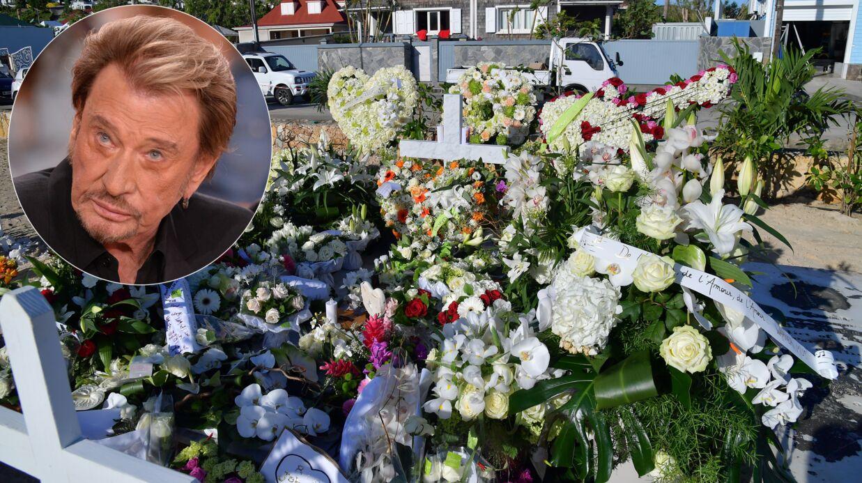 Mort de Johnny Hallyday: les attentions quotidiennes sur la tombe du rocker