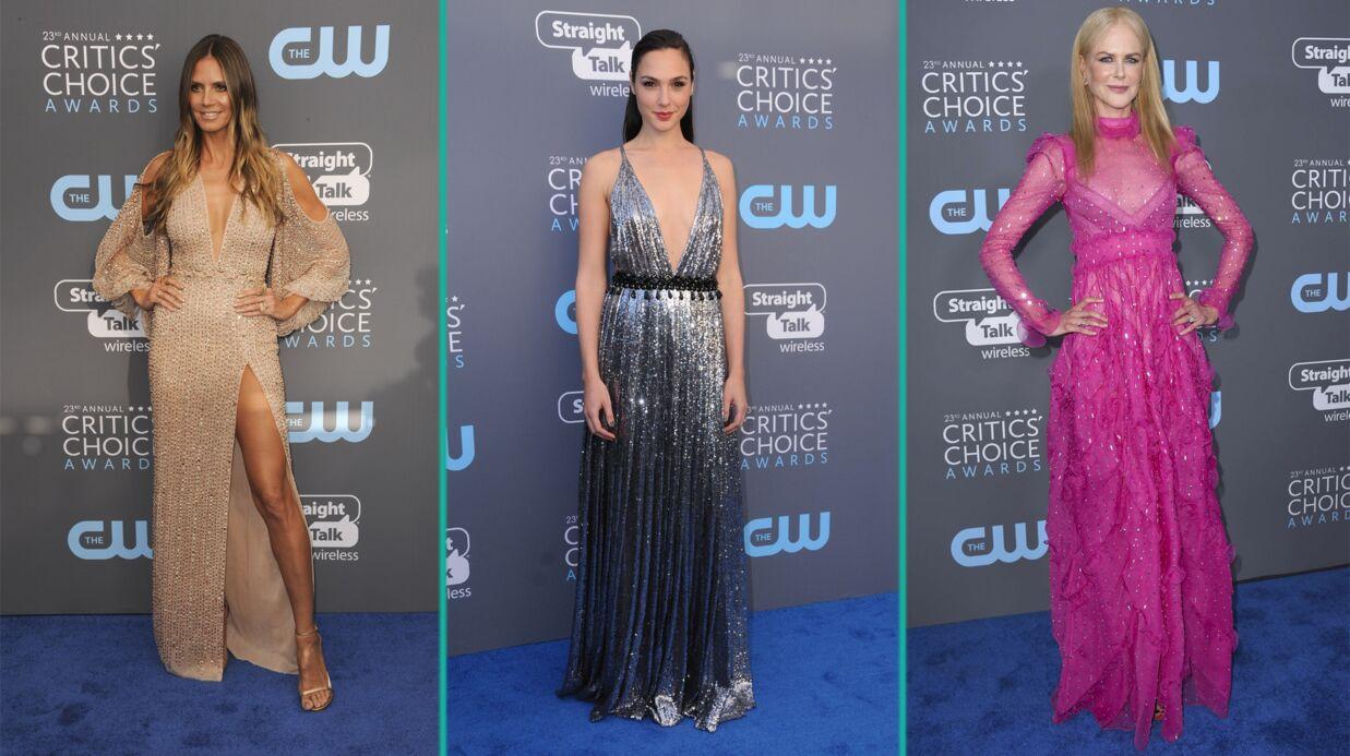 PHOTOS Critics' Choice Awards: le bisou de Diane Kruger et Norman Reedus, Heidi Klum ultra sexy