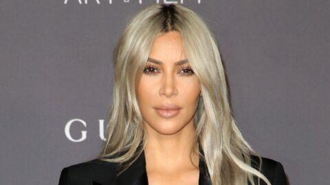 PHOTO Kim Kardashian: sans soutien-gorge, elle s'affiche dans un haut ultra moulant