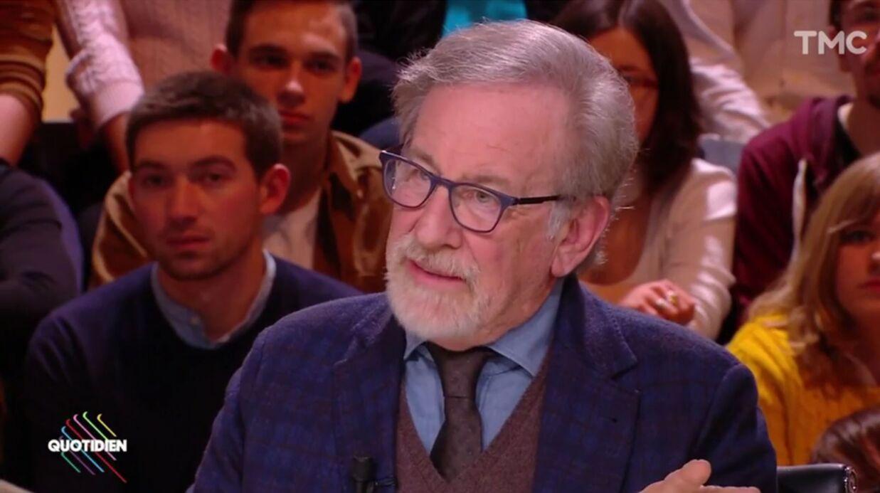 VIDEO Quotidien: Steven Spielberg explique pourquoi il ne fera jamais un film sur l'affaire Weinstein