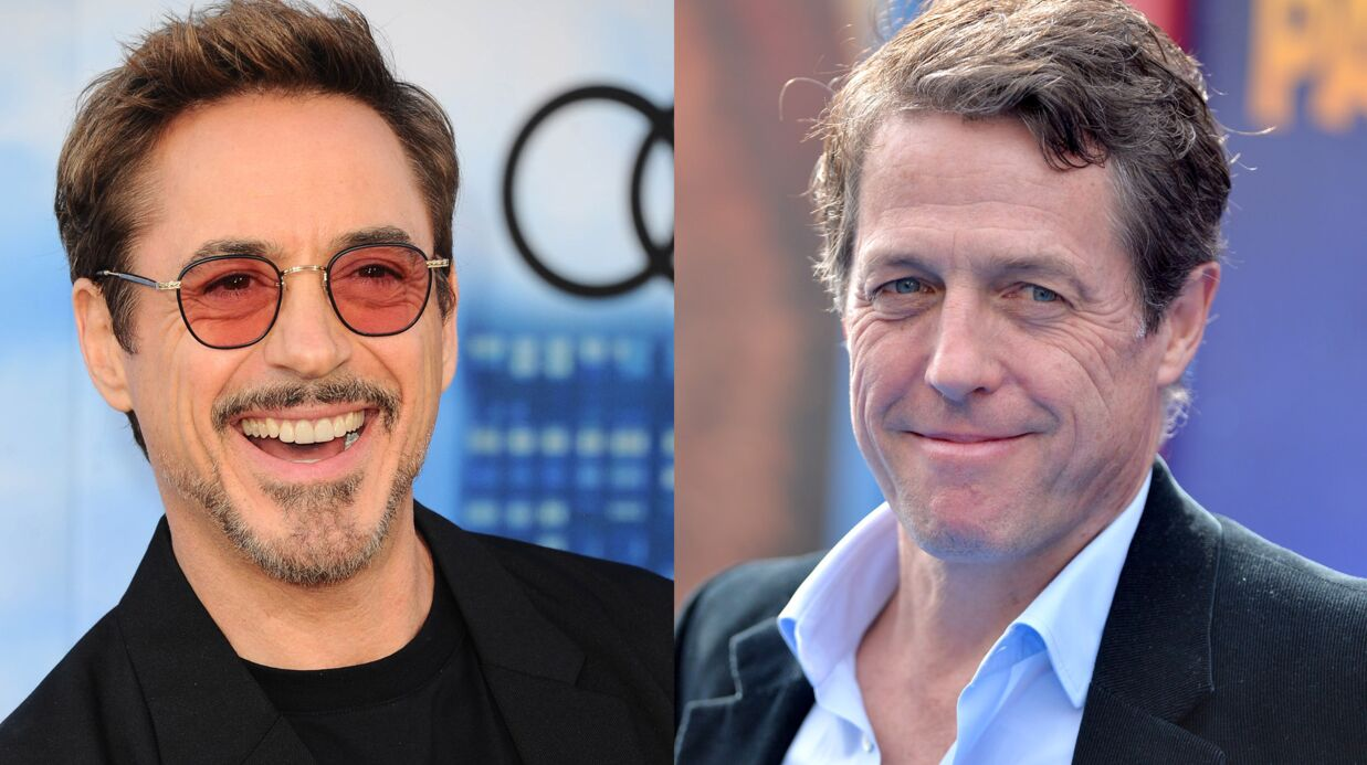 Hugh Grant et Robert Downey Jr se réconcilient après 20 ans de brouille
