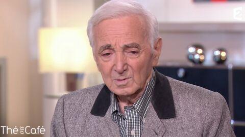 VIDEO Charles Aznavour: très ému, il parle de la mort de son ami Johnny Hallyday