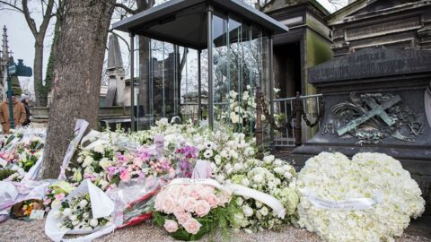 Obsèques de France Gall: le beau geste de Laeticia Hallyday au nom de Johnny