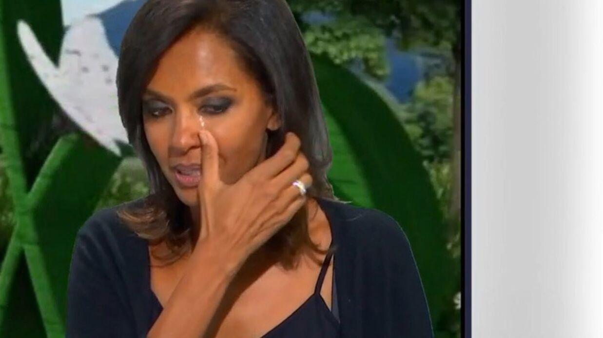 VIDEO Karine Le Marchand en larmes devant des images de la nouvelle saison de L'amour est dans le pré