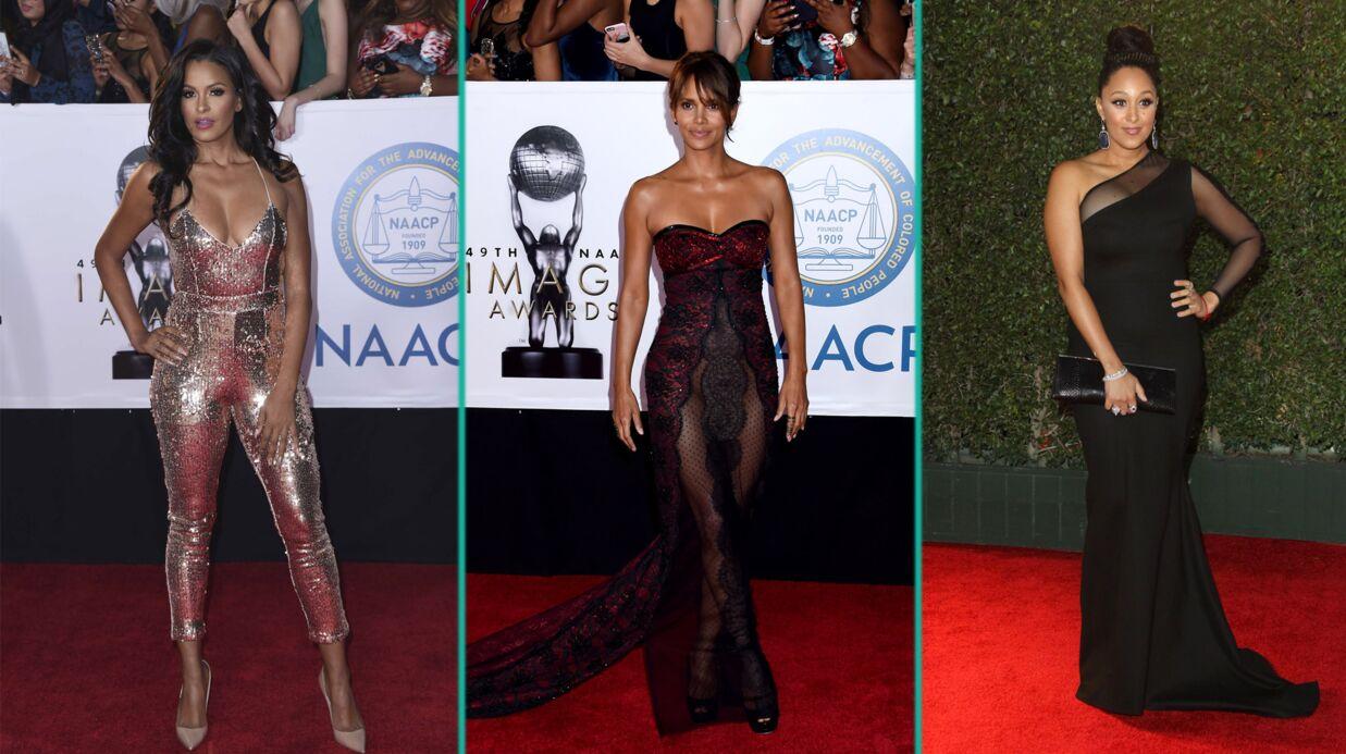 PHOTOS Halle Berry: en robe bustier transparente, elle dévoile son intimité sur tapis rouge