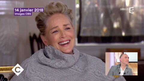 VIDEO Sharon Stone éclate de rire quand on lui demande si elle a été harcelée sexuellement à Hollywood