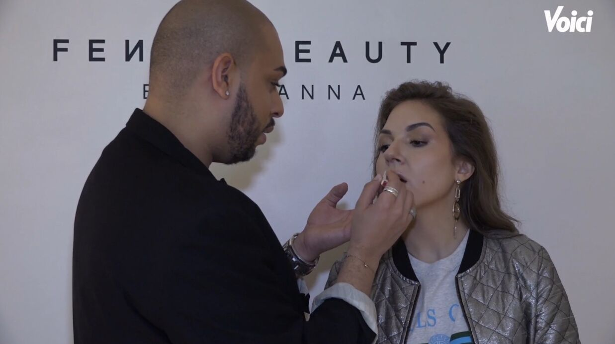 VIDEO On a testé les lips­tick Matte­moi­selle Fenty Beauty avec le maquilleur de Rihanna, Hector Espi­nal