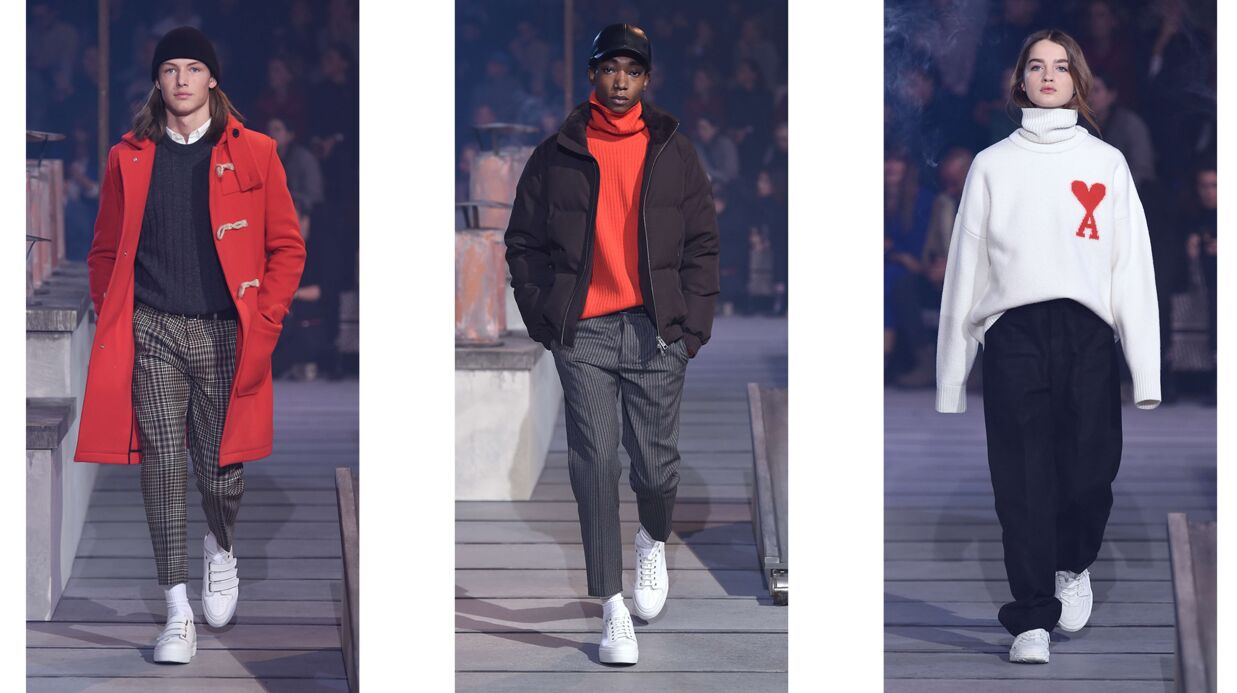 Fashion Week homme Automne Hiver 2018–19 : AMI pour toujours