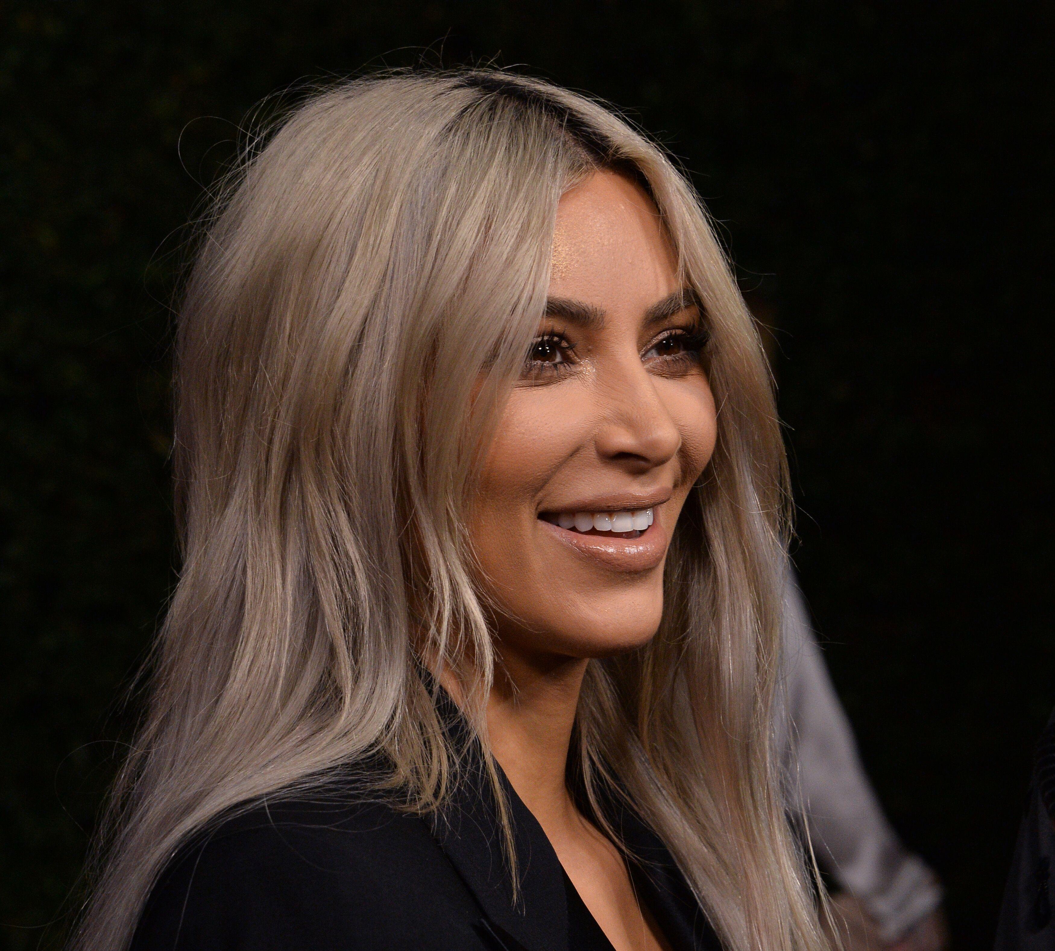 73e3429c5a22e Kim Kardashian dévoile enfin le prénom de sa petite fille - Voici