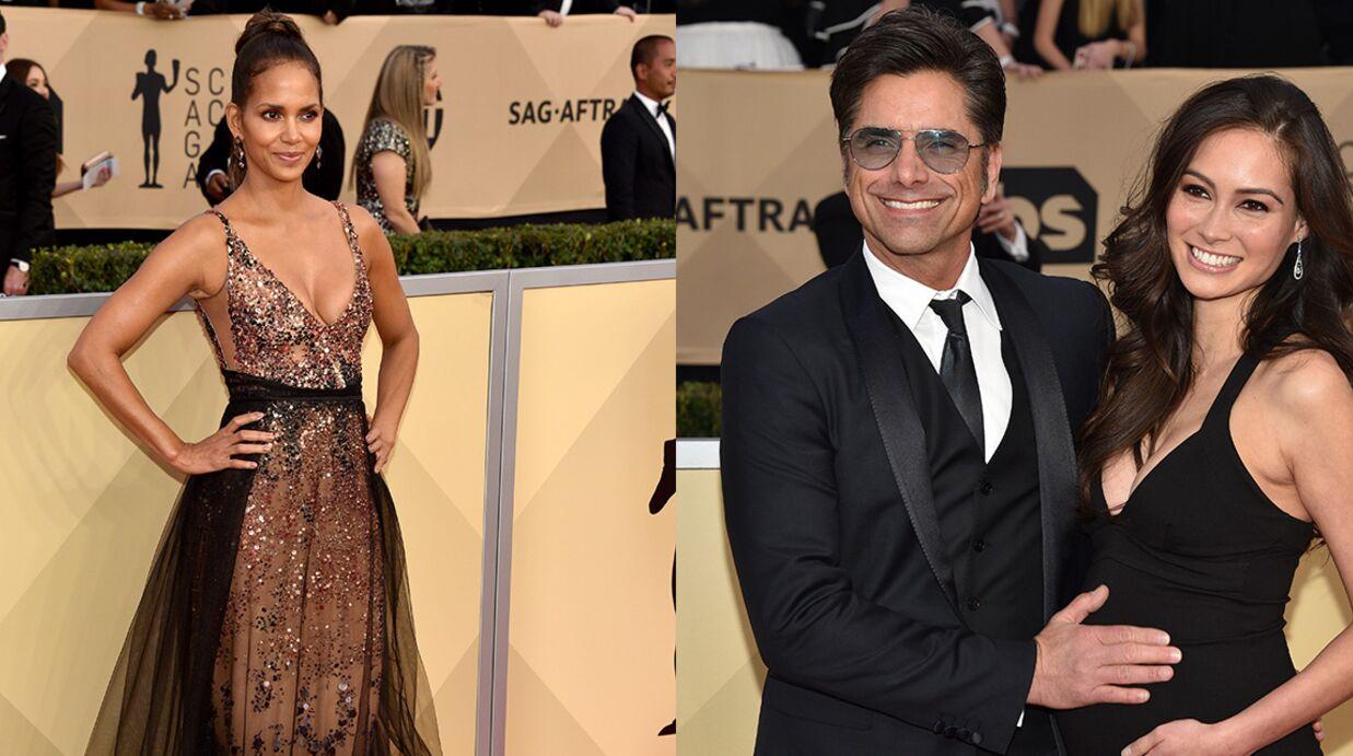 PHOTOS SAG Awards 2018: Halle Berry très sexy, John Stamos futur papa comblé sur le tapis rouge