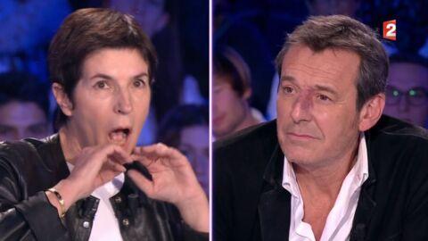 VIDEO On n'est pas couché: Christine Angot reproche à Jean-Luc Reichmann sa joie de vivre