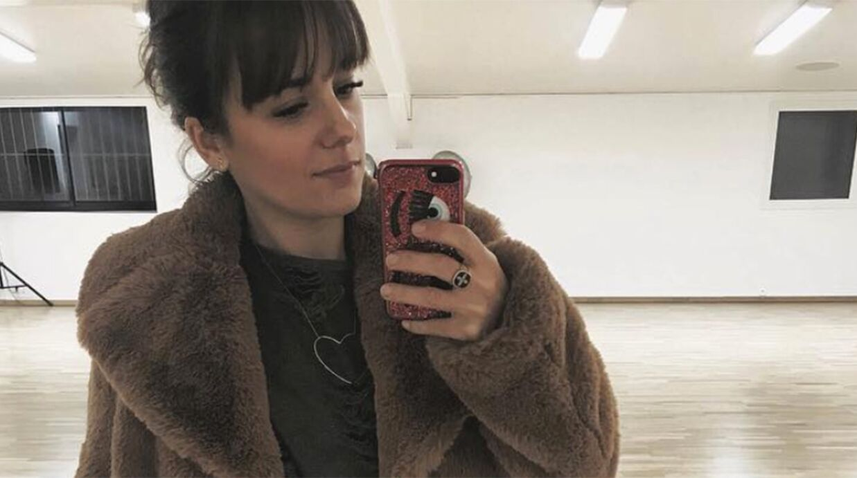 PHOTO Alizée dévoile un adorable cliché de sa fille à son cours de danse