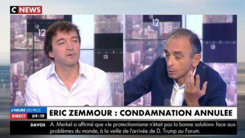 VIDEO Cali quitte le plateau de CNews, très remonté contre Eric Zemmour