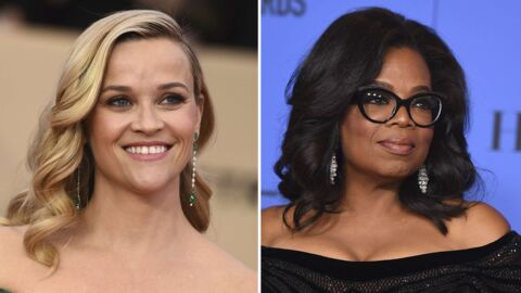 Enorme fail Photoshop: Reese Witherspoon avec trois jambes, Oprah Winfrey avec trois mains en couverture de Vanity Fair