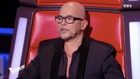 VIDEO Pascal Obispo en larmes dans The Voice, Rebecca raconte sa reprise émouvante de Lucie