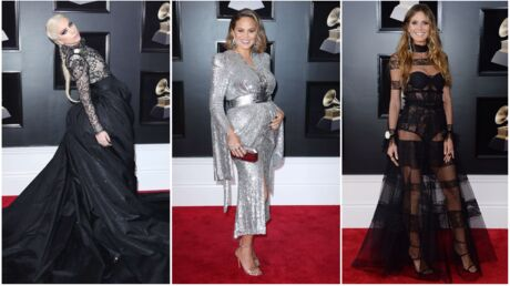 PHOTOS Grammy Awards 2018: l'incroyable tenue de Lady Gaga, le baby bump de Chrissy Teigen