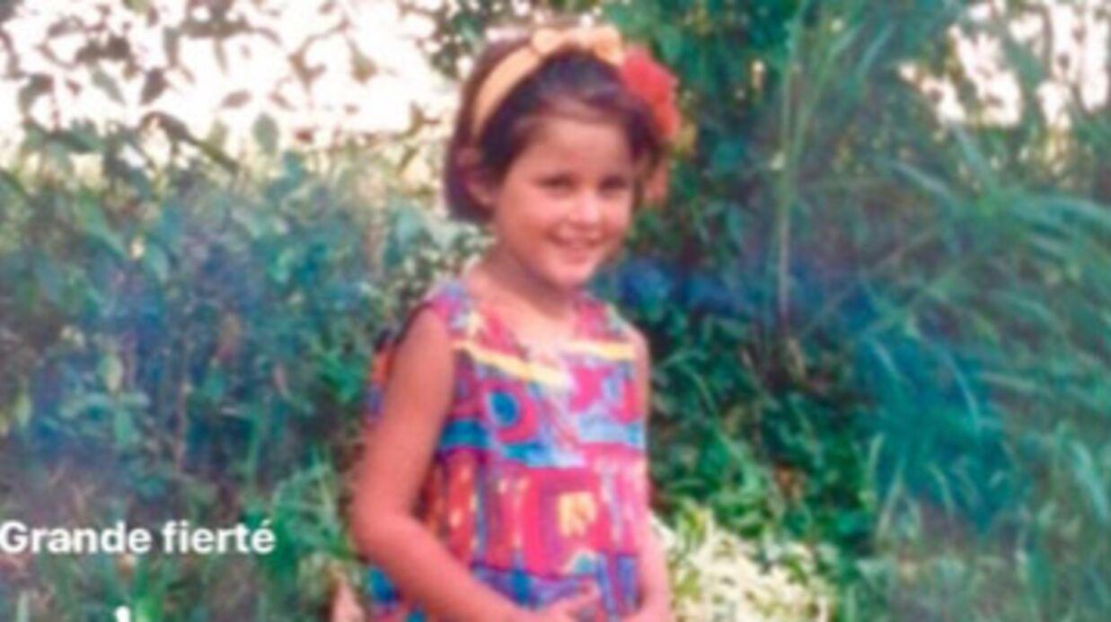DEVINETTE Qui est cette adorable petite fille avec son short rose?